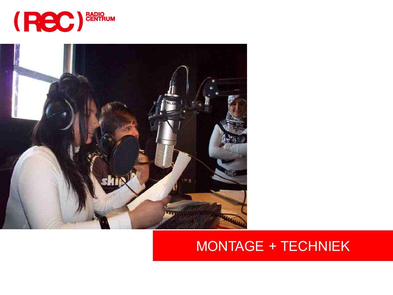 MONTAGE + TECHNIEK