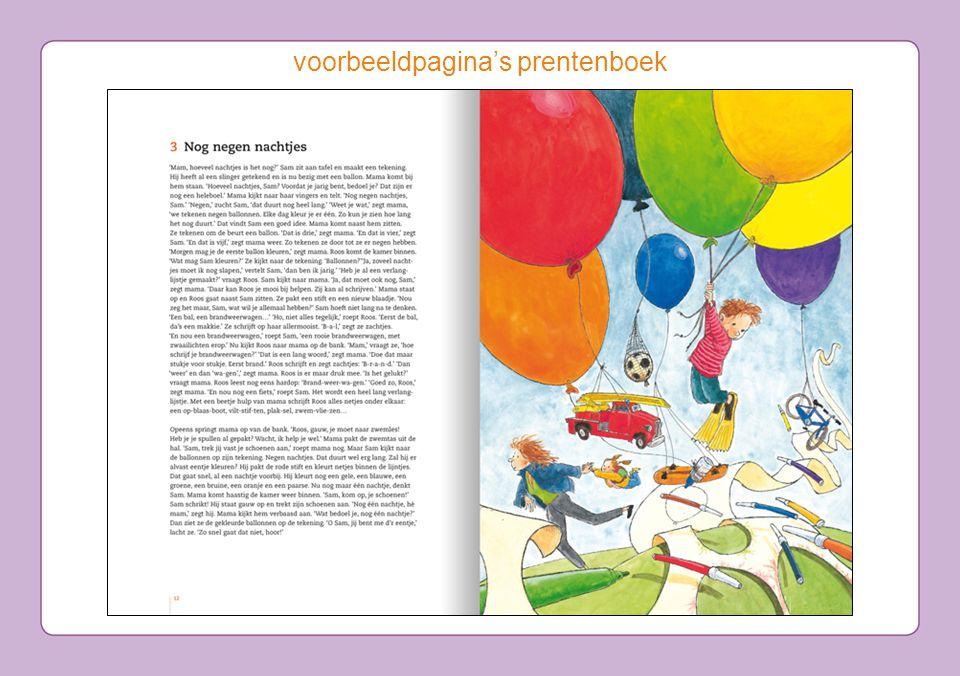 voorbeeldpagina's prentenboek