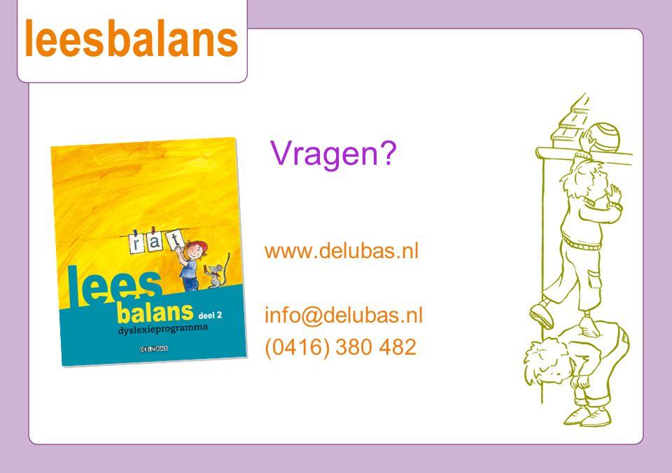 www.delubas.nl info@delubas.nl (0416) 380 482 Vragen?