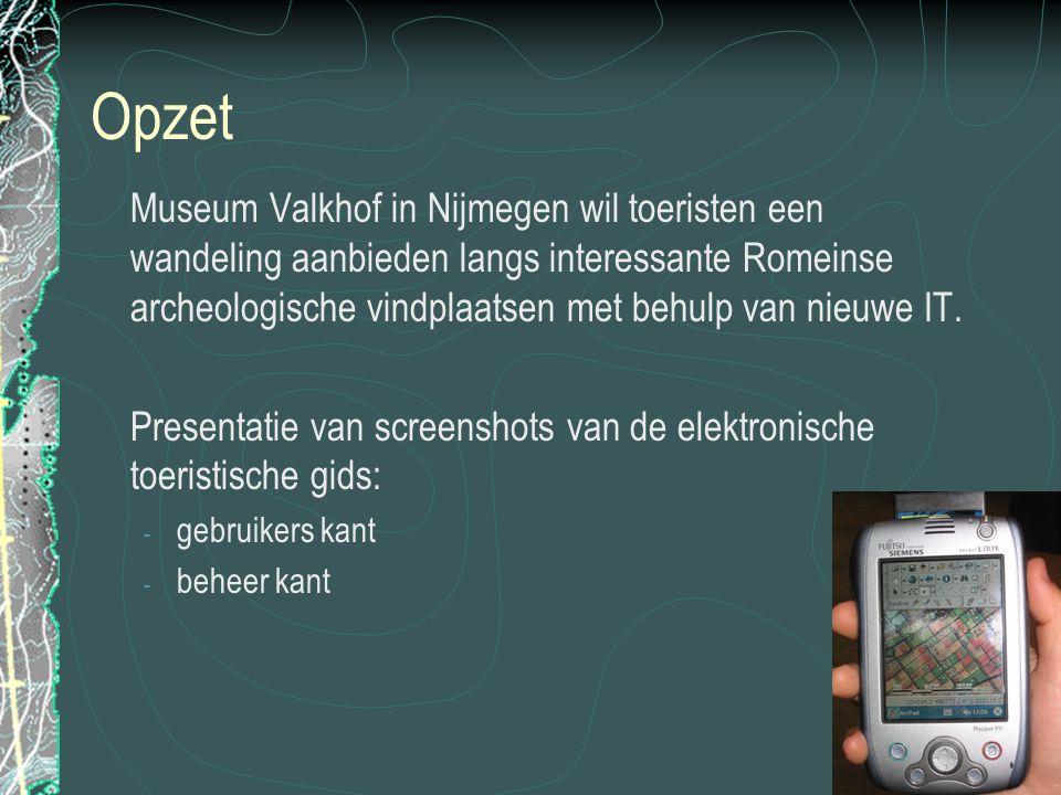 1. Openingsscherm Instellen taal