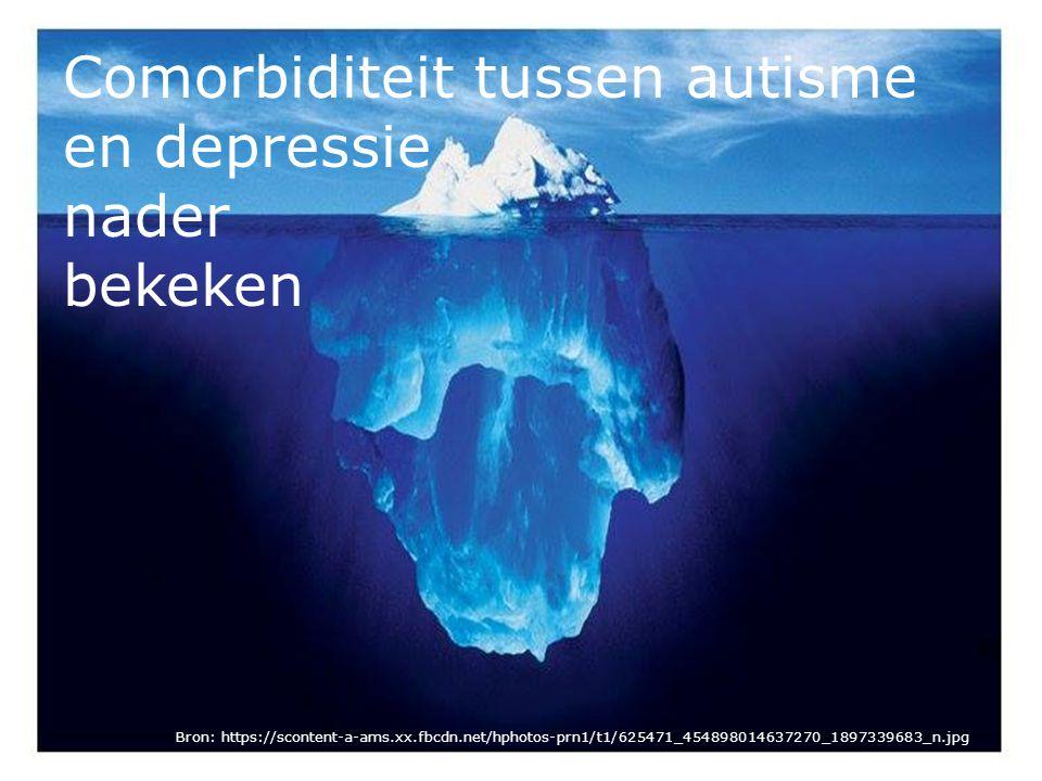 Afwijkingen in neurotransmissie afwijkingen bij autisme: -hoger serotonineniveau => relatie met kenmerken van autisme is nog steeds onduidelijk -hoger gehalte adrenaline, noradrenaline en cortisol => kan stressgerelateerd zijn: door angst voor onbekende en onverwachte situaties kan stressniveau hoger zijn -behandeling met dopaminereceptorblokkers => verminderen autistische symptomen zoals hyperactiviteit, stereotiepe gedragingen, agressie en zelfverwonding afwijkingen bij depressie: -verhoogd cortisolniveau => verminderd aantal serotonine receptoren => lager serotonine gehalte => degeneratief effect op hippocampus, dus slechter in staat om stressreactie te stoppen = vicieuze cirkel -dopamineniveau gemiddeld lager => motorische afwijkingen zoals onzekere loop, anhedonie en verlaagde motivatie -noradrenaline verlaagd -vergrote bijnierschors en hypofyse -antidepressiva zoals SSRI's, MAO's, TCA's => verhogen serotonine en dopamine