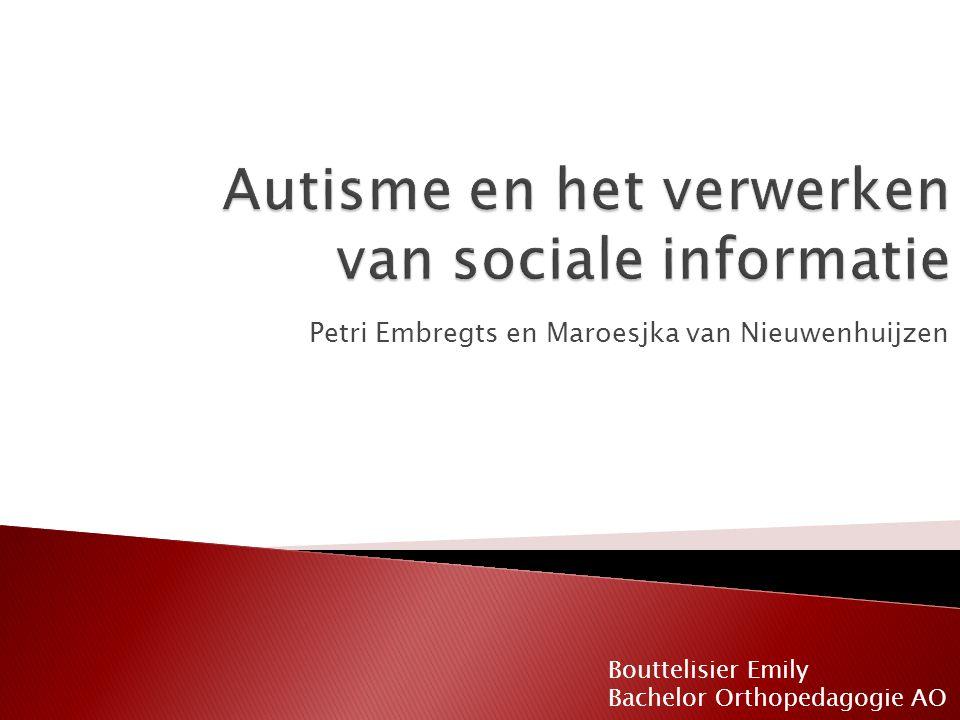 Petri Embregts en Maroesjka van Nieuwenhuijzen Bouttelisier Emily Bachelor Orthopedagogie AO