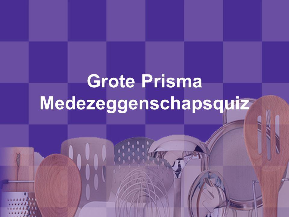 Grote Prisma Medezeggenschapsquiz
