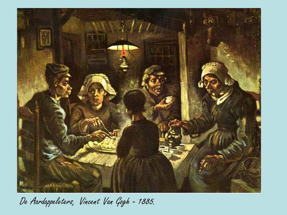 De Aardappeleters, Vincent Van Gogh - 1885.