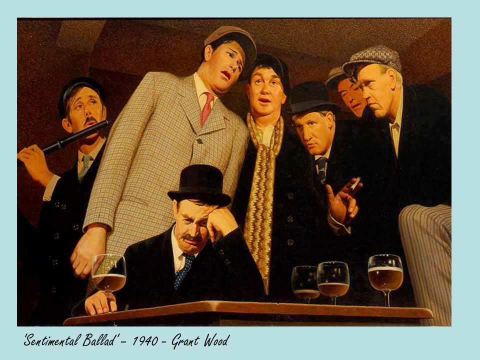 Sentimental Ballad – 1940 - Grant Wood