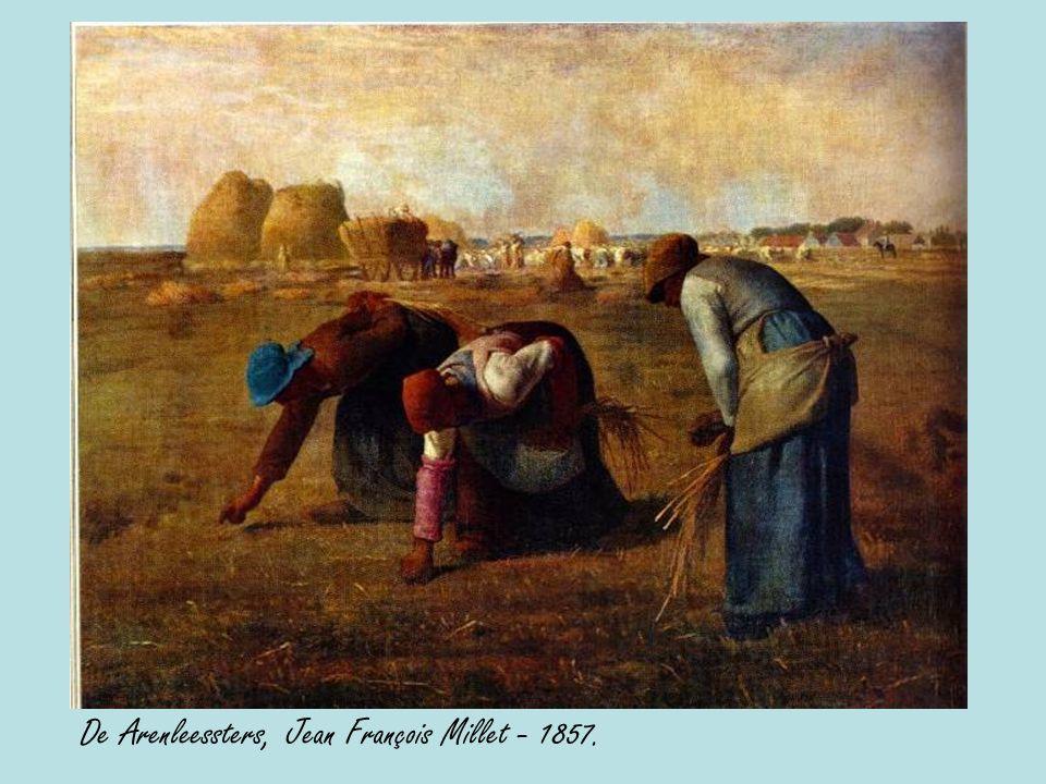 De Arenleessters, Jean François Millet - 1857.
