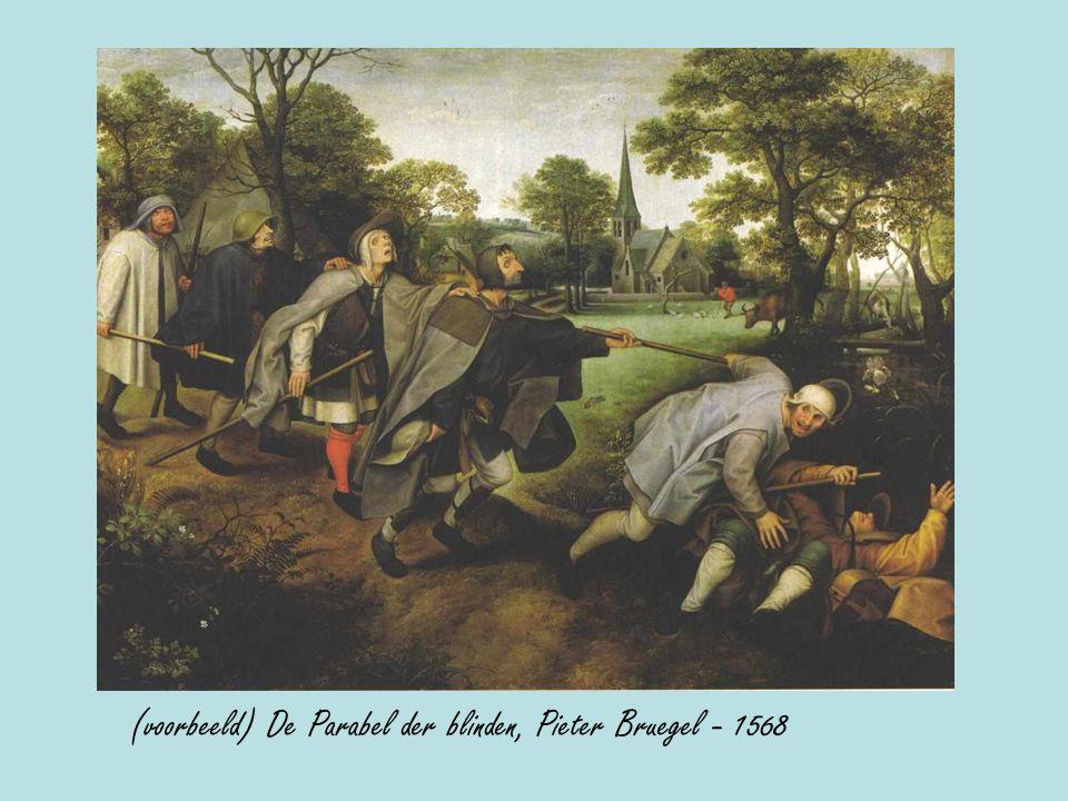 (voorbeeld) De Parabel der blinden, Pieter Bruegel - 1568