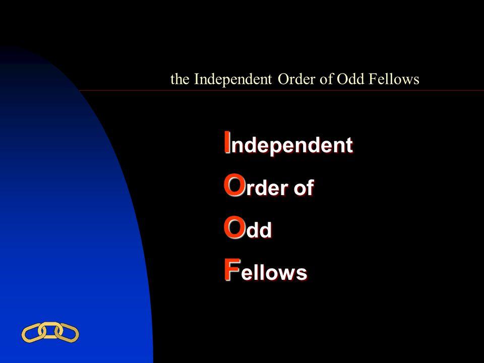 I ndependent O rder of O dd F ellows