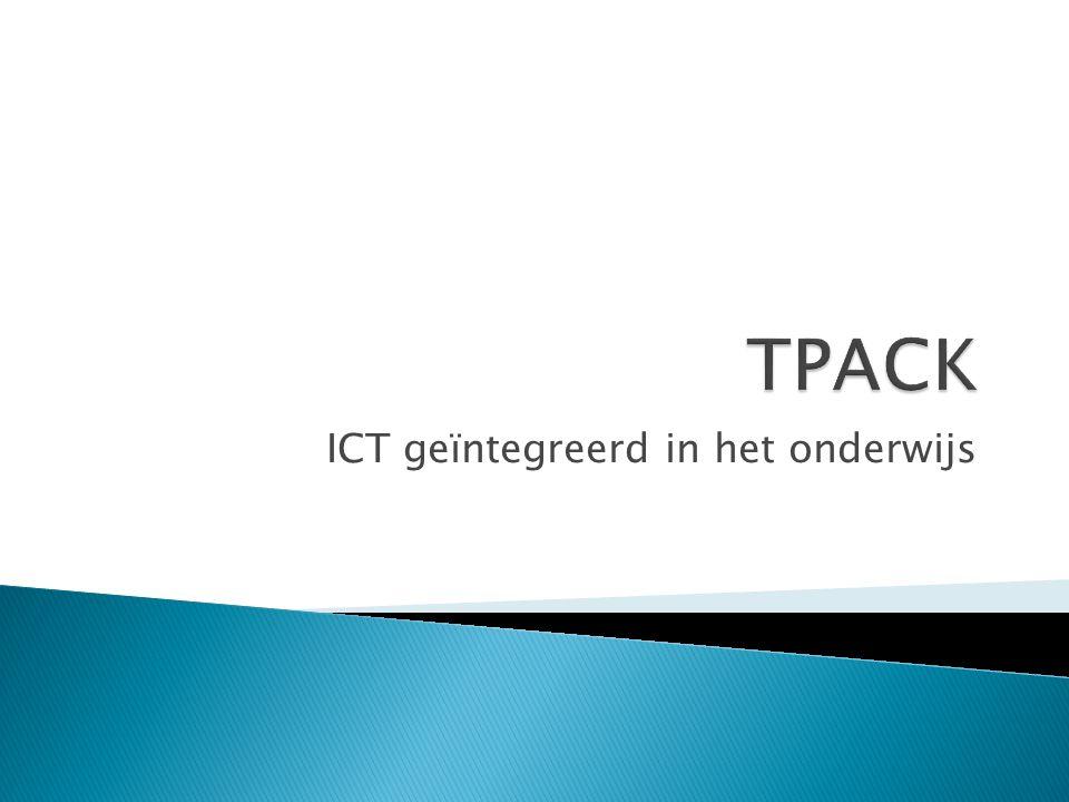  Inleiding  Introductie TPACK  Oefenen met digitaal spel  Zelf aan de slag met je onderwijs  Afronding en evaluatie