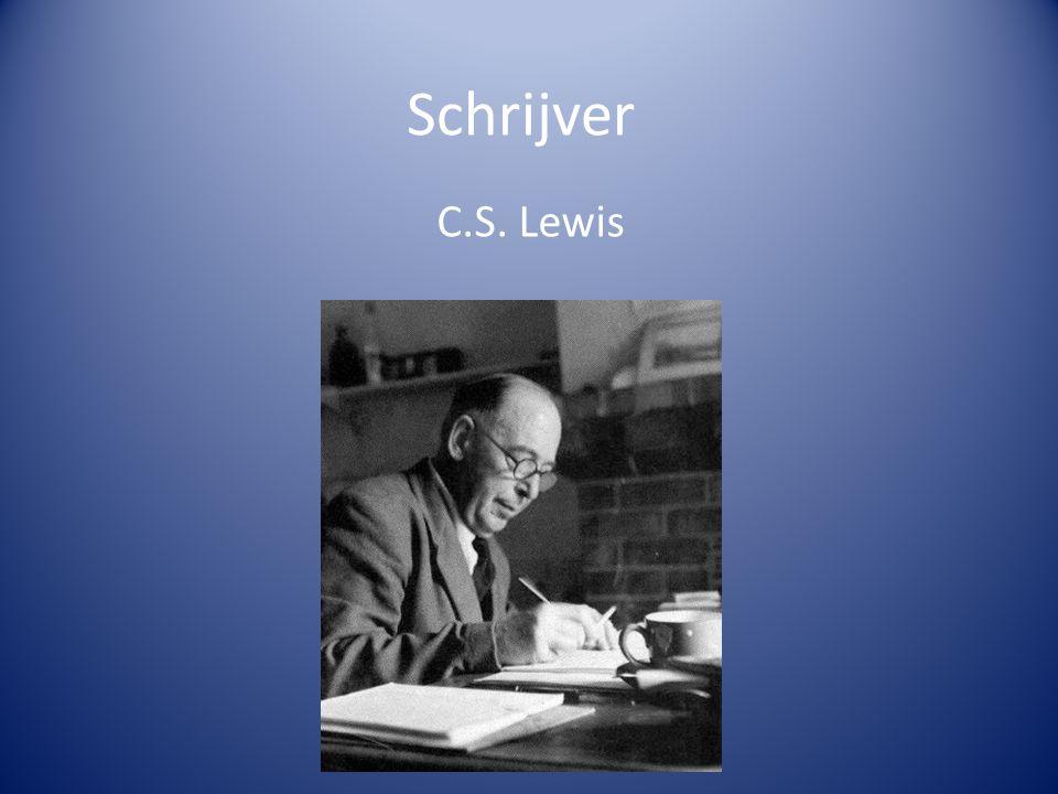 Schrijver C.S. Lewis