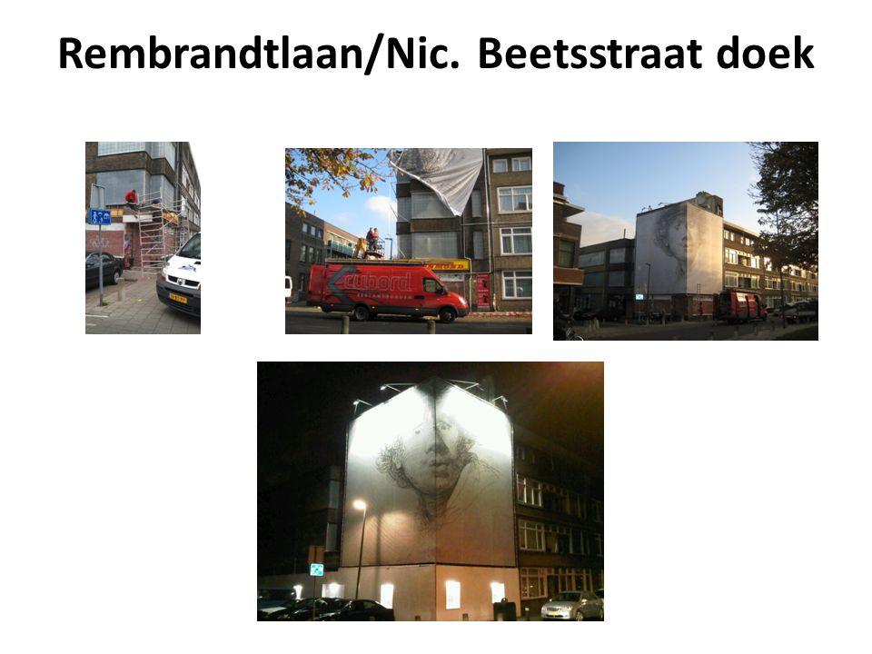 Rembrandtlaan/Nic. Beetsstraat doek
