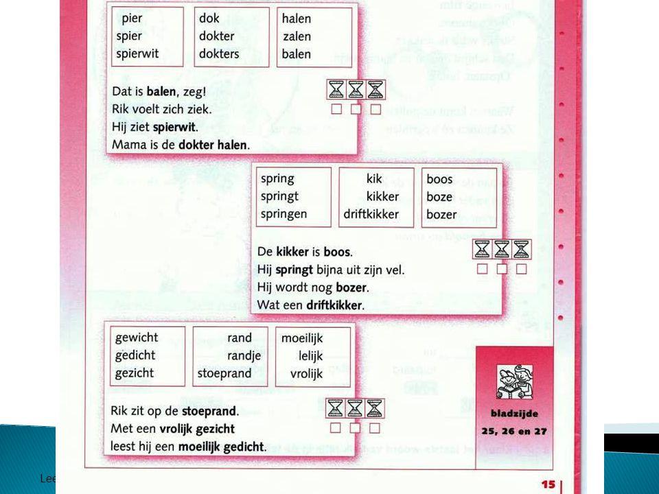 Leesonderwijs Panaga school 2011 Werkboek Estafette