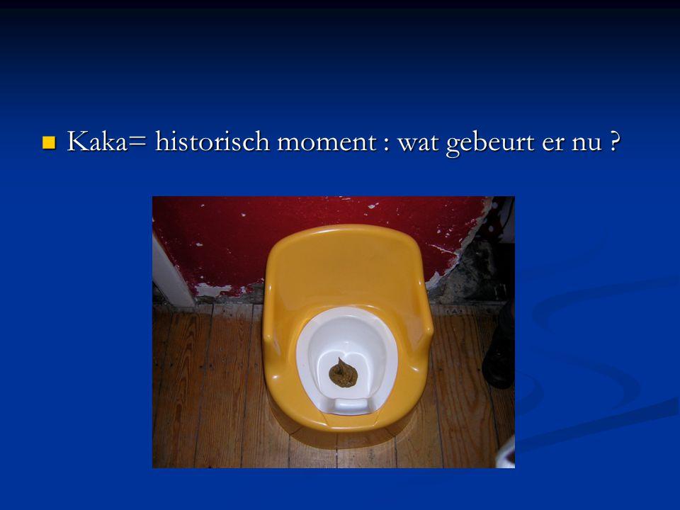 Kaka= historisch moment : wat gebeurt er nu ? Kaka= historisch moment : wat gebeurt er nu ?