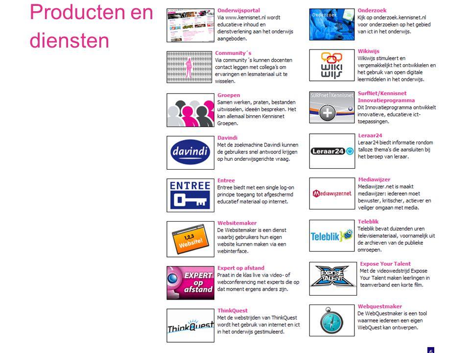 Producten en diensten 6