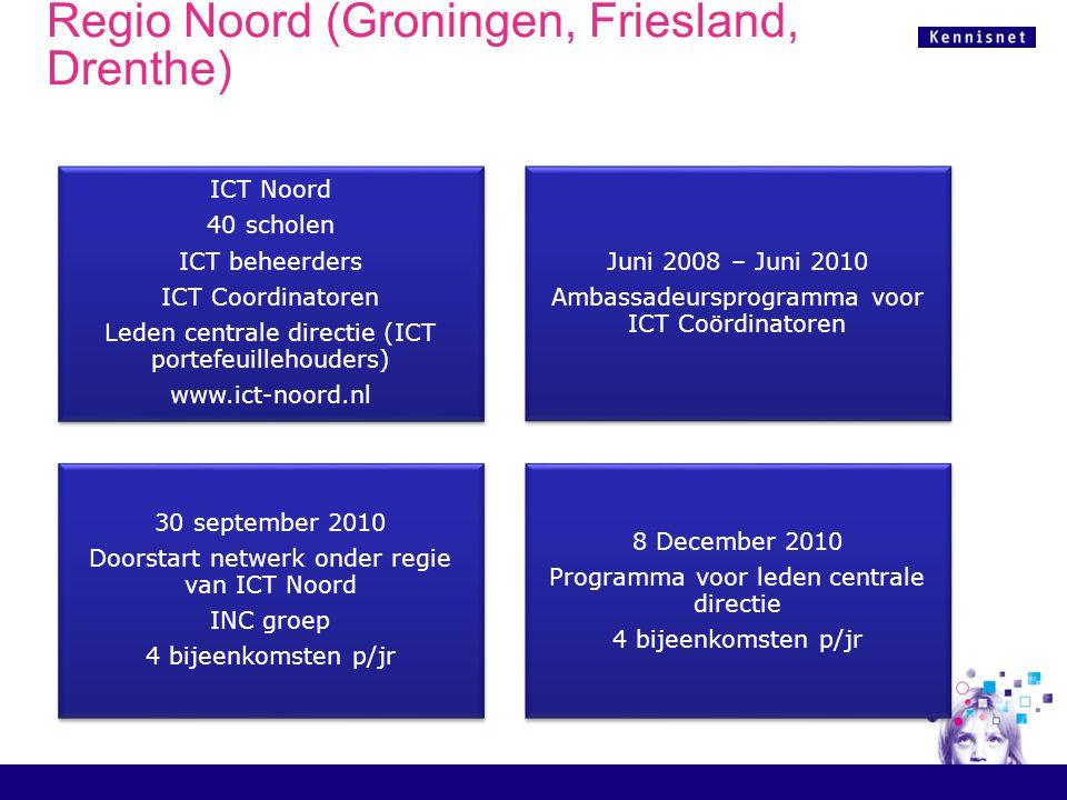 ICT Noord, INC Groep Waar schrijft een school op in als die meedoet aan de INC.