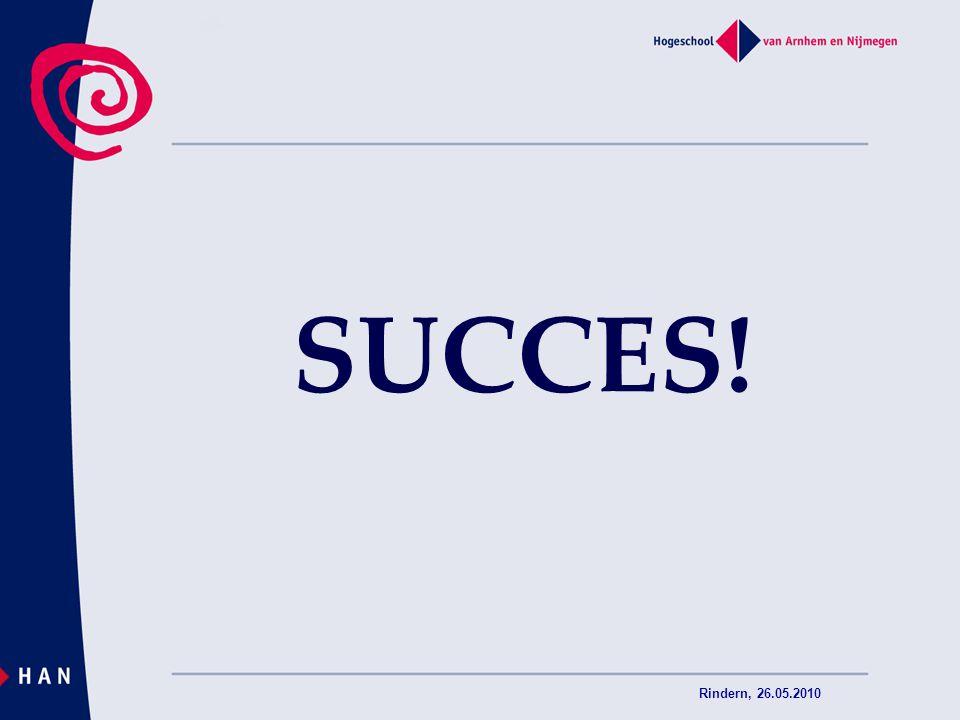 Rindern, 26.05.2010 SUCCES!