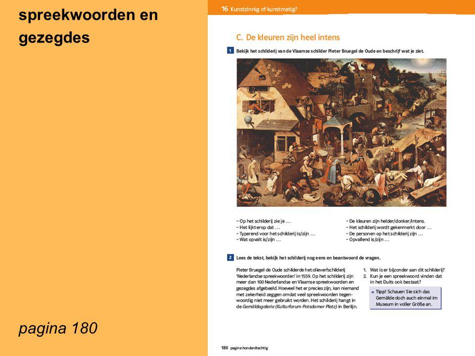 spreekwoorden en gezegdes pagina 180