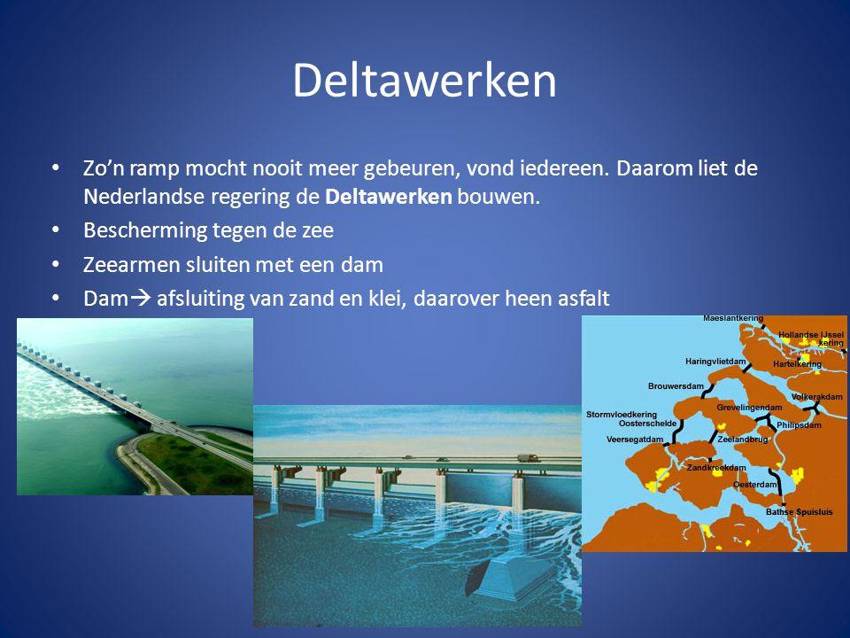 Deltawerken Zo'n ramp mocht nooit meer gebeuren, vond iedereen.