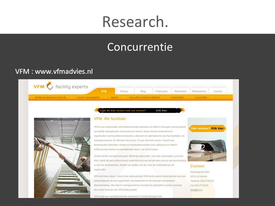 Research.Onze mogelijkheden Koppeling naar de blog...