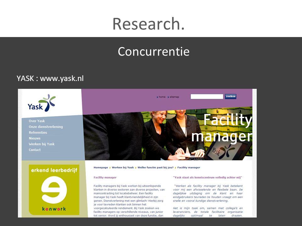 Research.Sterk uit concurrentie Finext & VFM leggen nadruk op publicaties.