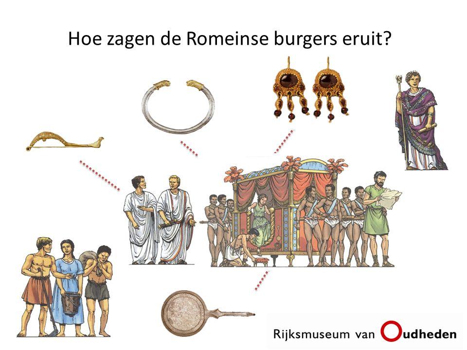 Hoe zagen de Romeinse burgers eruit?
