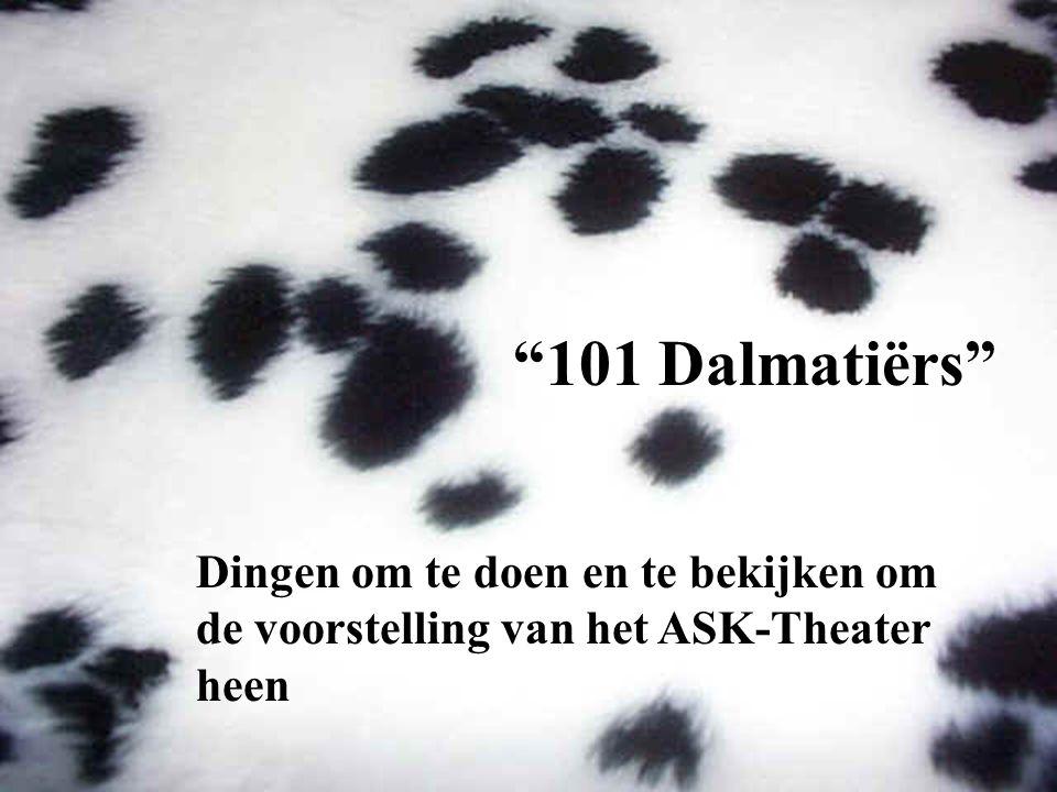 """""""101 Dalmatiërs"""" Dingen om te doen en te bekijken om de voorstelling van het ASK-Theater heen"""