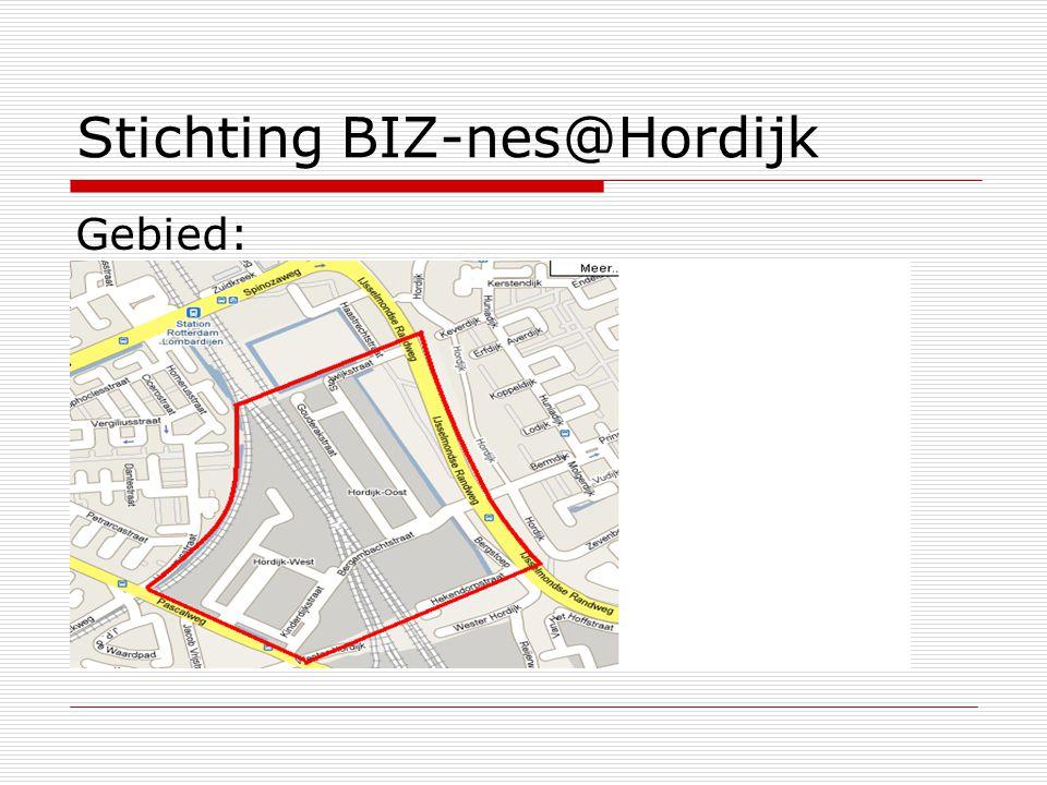 Stichting BIZ-nes@Hordijk Gebied: