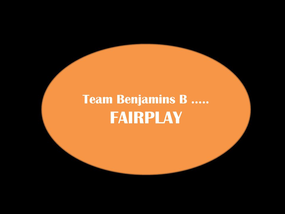 Team Benjamins B ….. FAIRPLAY