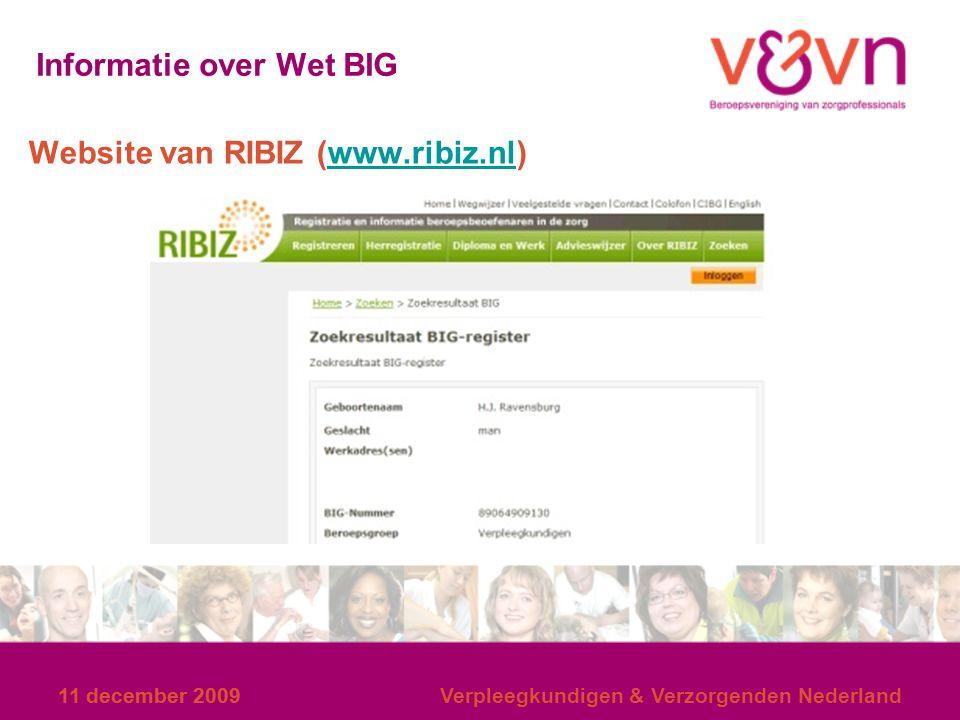11 december 2009 Verpleegkundigen & Verzorgenden Nederland WAT IS HET KR V&V Online registratiesysteem (via internet) *AMV vastleggen deskundigheidsbevorderende activiteiten (gedaan of gepland) *Aantal uren, inhoud en documenten in KR vastgelegd