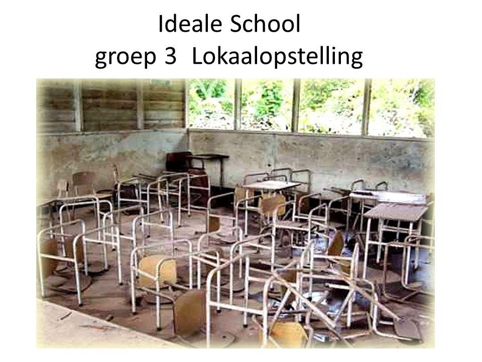 Ideale School groep 3Lokaalopstelling