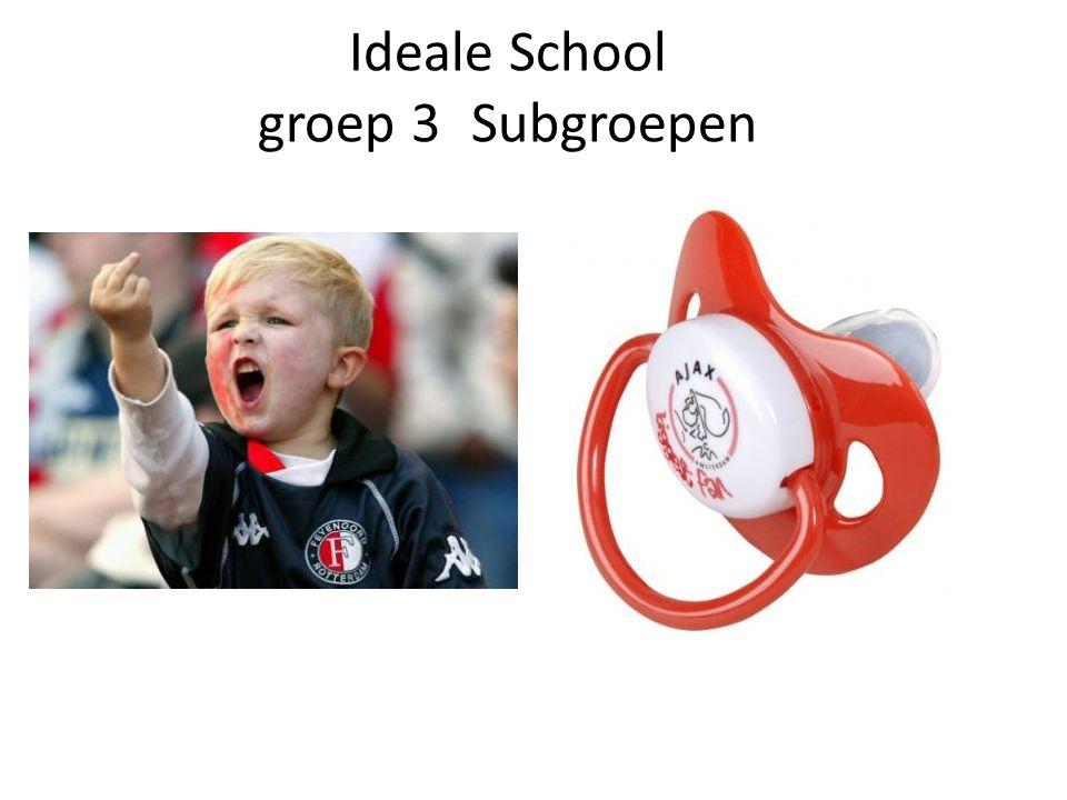Ideale School groep 3Subgroepen
