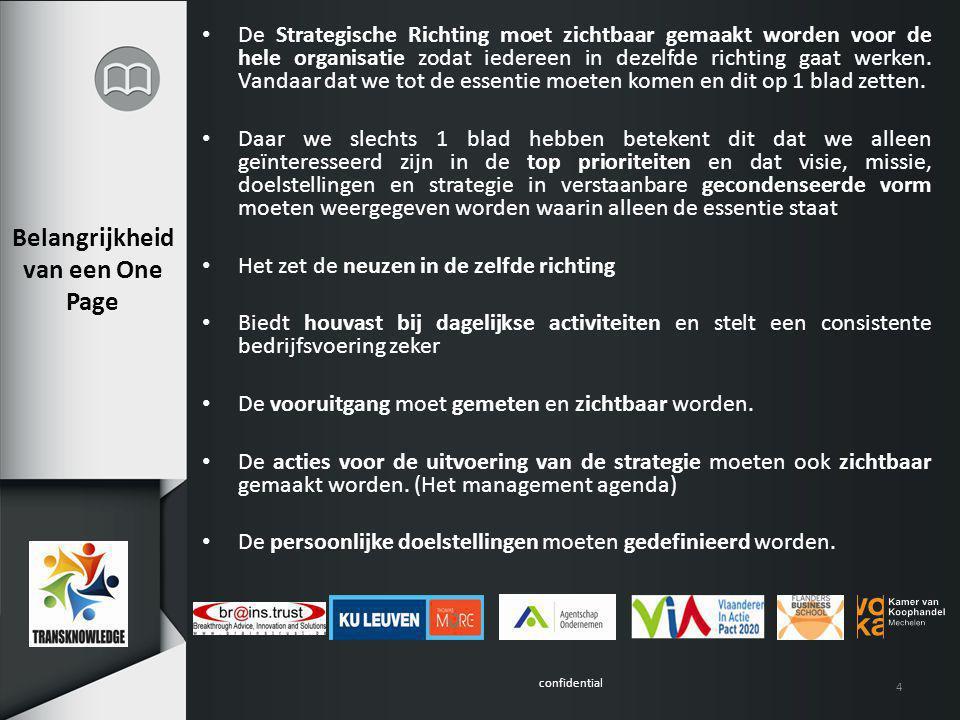 confidential Noden gedistilleerd uit 12 strategie studies