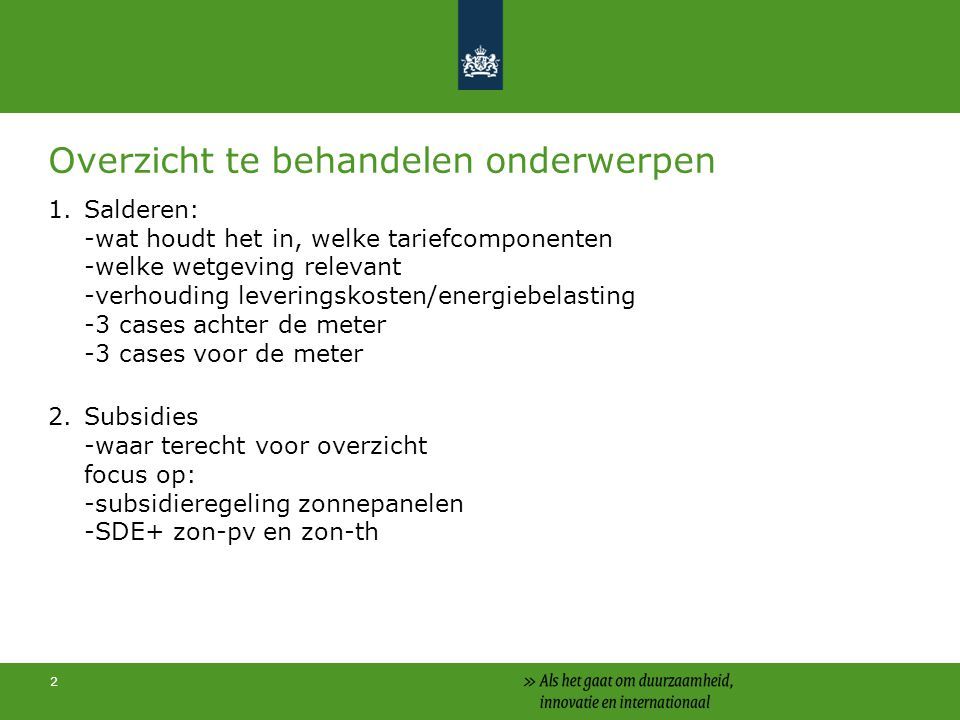 3 Opbouw kWh-tarief