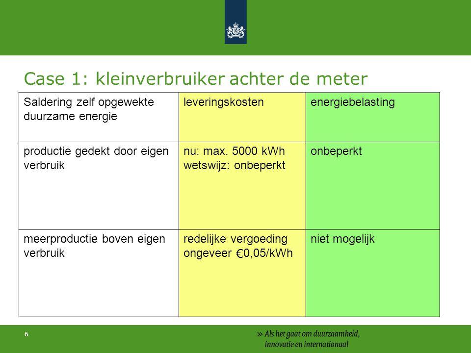 17 Focus op: 1.Subsidieregeling zonnepanelen 2.SDE+ -zon-pv -zon-th