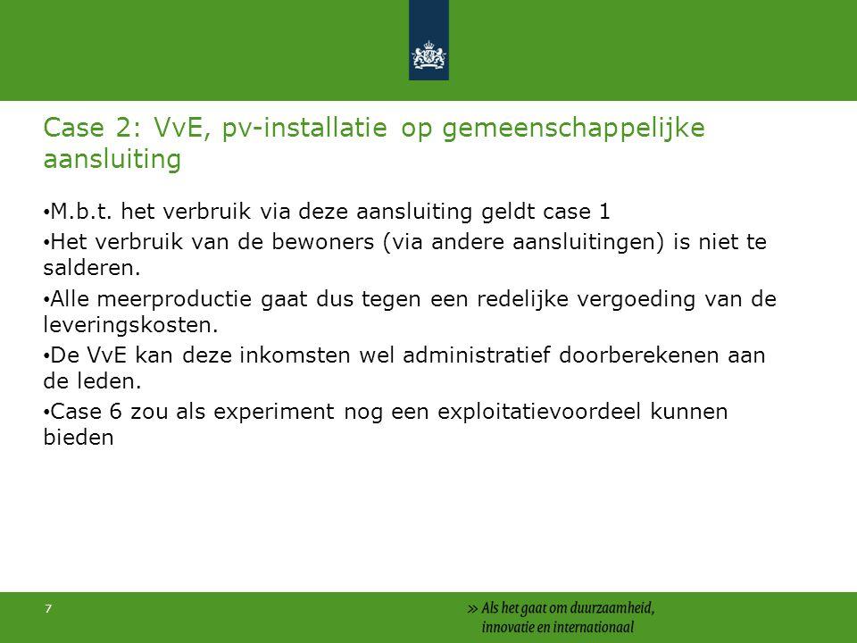18 Subsidieregeling zonnepanelen http://www.agentschapnl.nl/programmas-regelingen/subsidieregeling-zonnepanelen http://www.agentschapnl.nl/programmas-regelingen/subsidieregeling-zonnepanelen Budget voor 2012 + 2013: € 50.882.000,- Nu nog beschikbaar: ongeveer € 20.000.000,- Inmiddels ruim 50.000 aanvragen toegewezen Regeling sluit 28 december 2013, 17.00 uur Op is op Aanvragen via eloket: http://www.agentschapnl.nl/organisatie/eloket http://www.agentschapnl.nl/organisatie/eloket