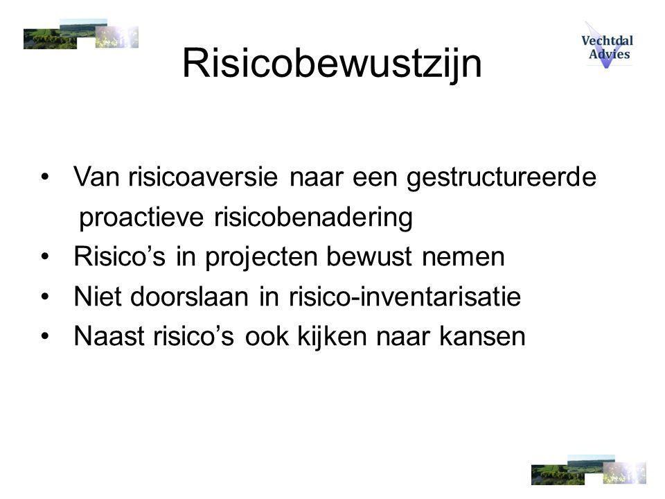 De RISMAN-methode Historie: - Rijkswaterstaat start in 1992 met PRI - 1995 / 1996  Project Risman - 1997  Project Risman2