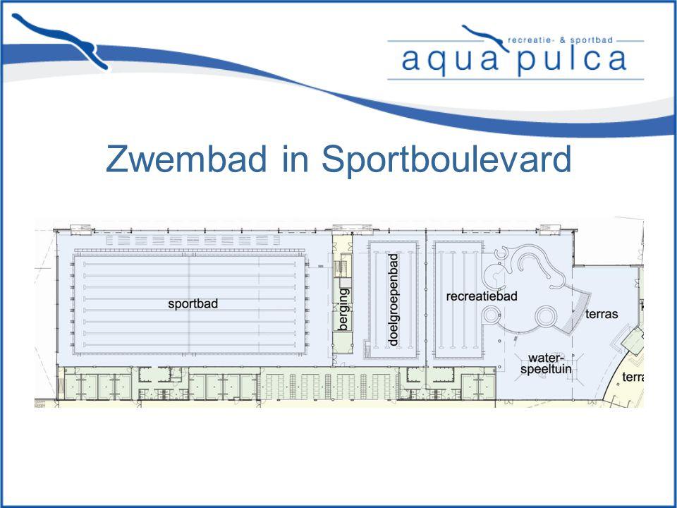 Zwembad in Sportboulevard