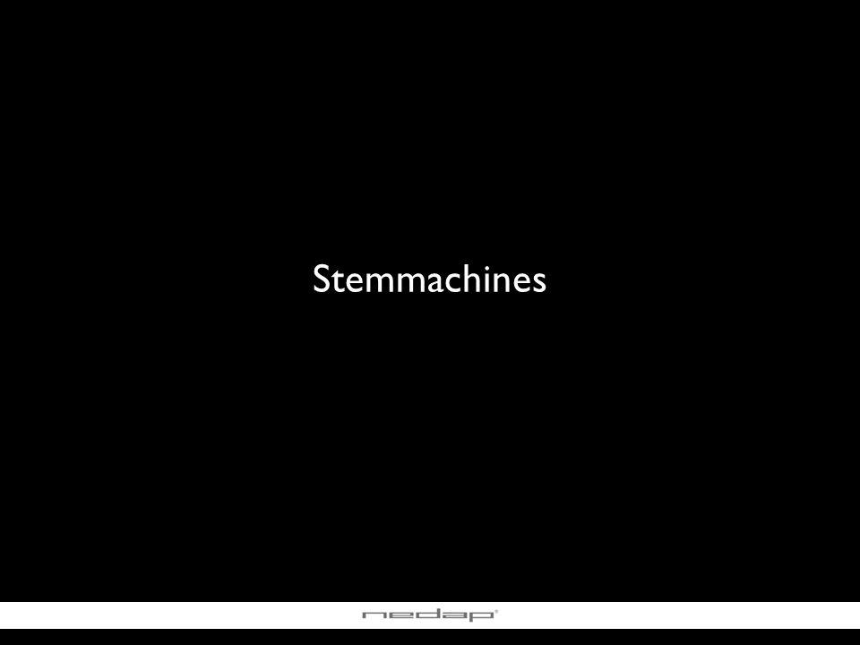 Stemmachines