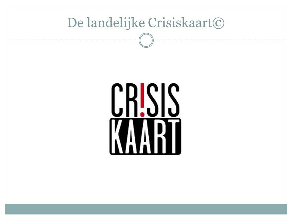 Wat is de crisiskaart.