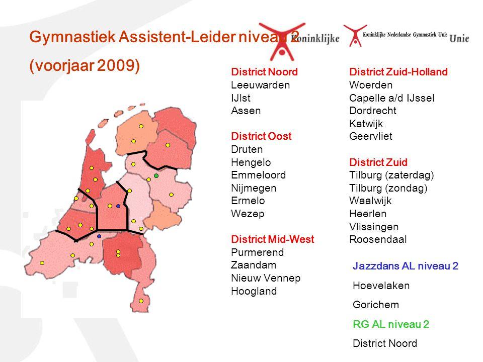 District Noord Leeuwarden IJlst Assen District Oost Druten Hengelo Emmeloord Nijmegen Ermelo Wezep District Mid-West Purmerend Zaandam Nieuw Vennep Ho