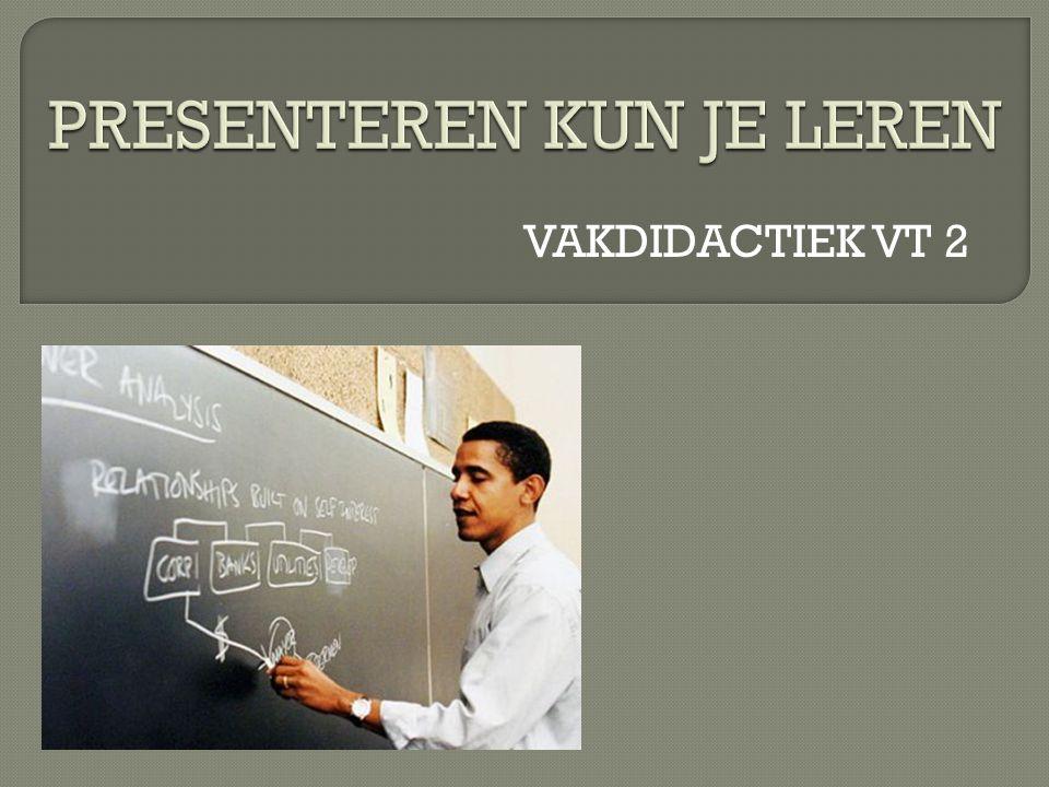 VAKDIDACTIEK VT 2