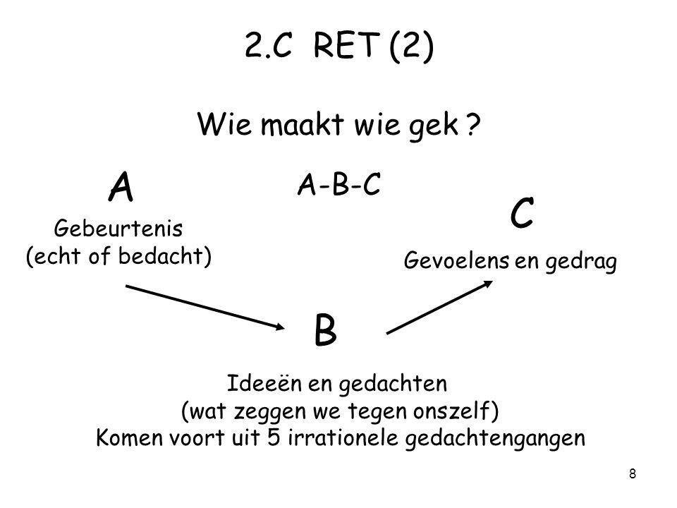 8 2.C RET (2) Wie maakt wie gek .