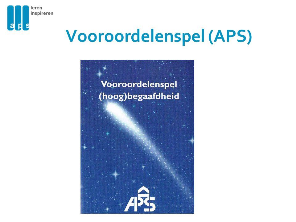 Vooroordelenspel (APS)