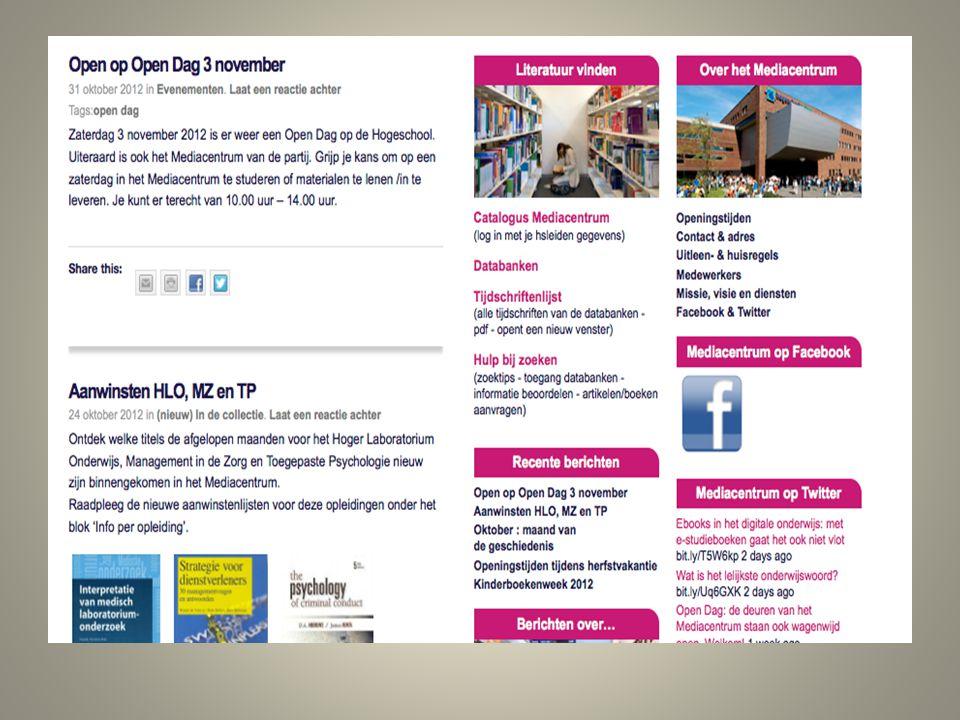 Like ons op Facebook Mediacentrum Hogeschool Leiden en blijf op de hoogte!
