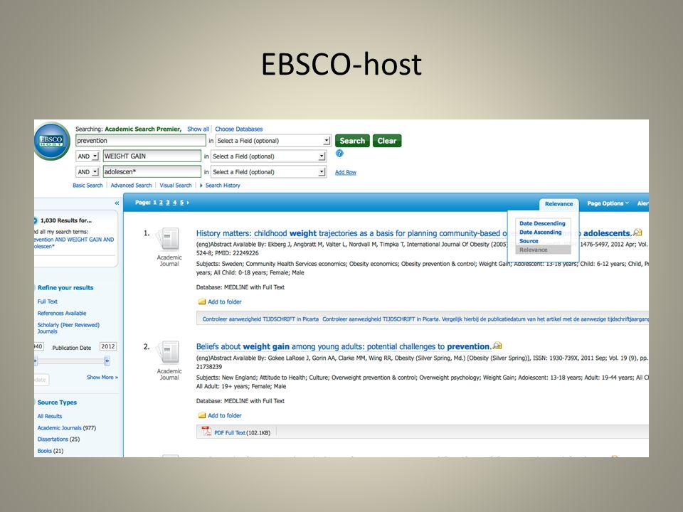 EBSCO-host