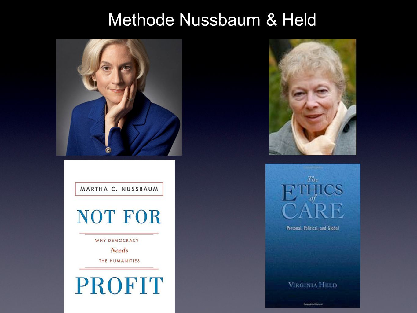 Methode Nussbaum & Held