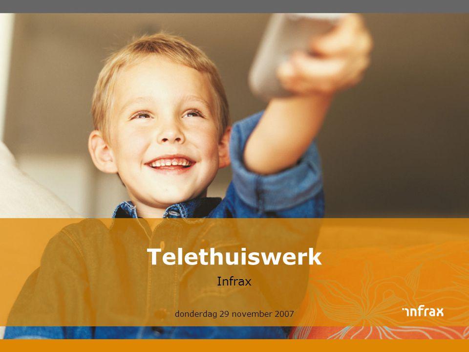 Telethuiswerk Infrax donderdag 29 november 2007