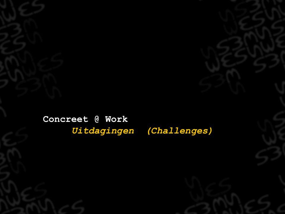 Uitdagingen (Challenges)