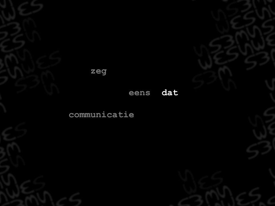 Elementen van non-verbale communicatie Elementen van verbale communicatie Interactie verbaal non-verbaal
