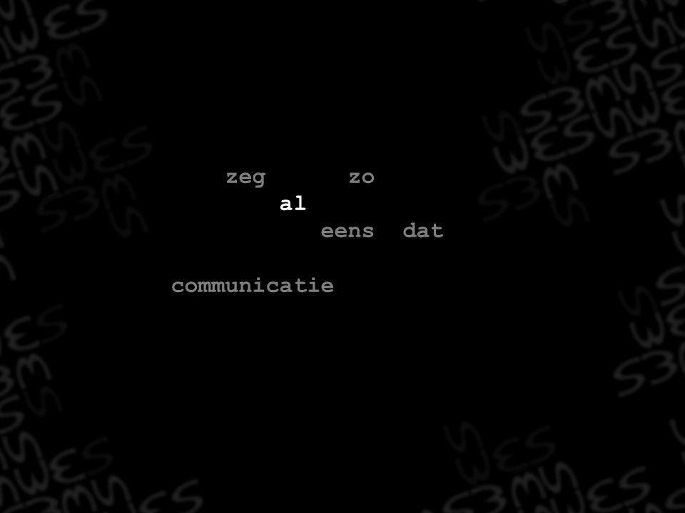 Men zegt (en zowel Gartner als Hunt zijn het er mee eens) dat 55% tot 80 % van alle Communicatie non- verbaal is…
